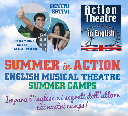 english musical theatre summer camp 2018