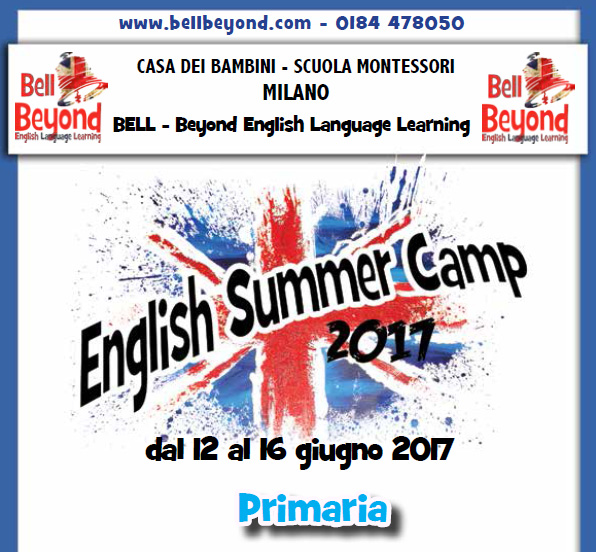 English Summer Camp Montessori
