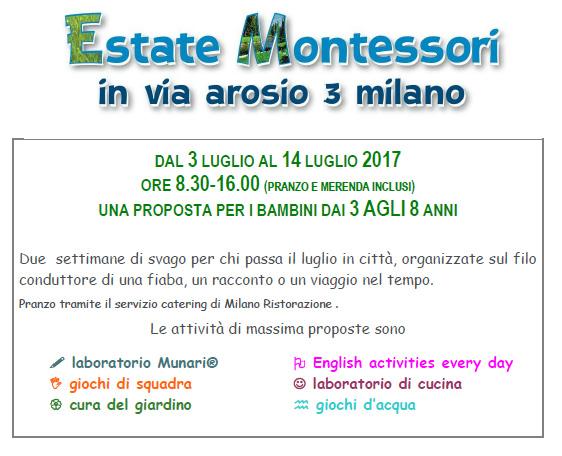 Estate Montessori 2017