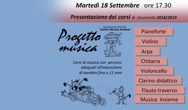Corsi musica Scuola montessori Milano